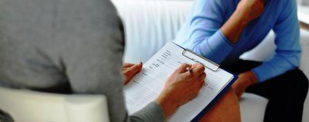 Psicóloga y paciente en terapia