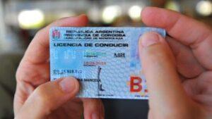 Licencia de conducir de cordonba