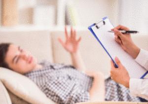 paciente en su primera entrevista
