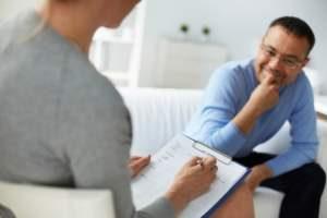 paciente en tratamiento psicológico - psicólogo clínico