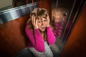 Claustrofobia en el ascensor