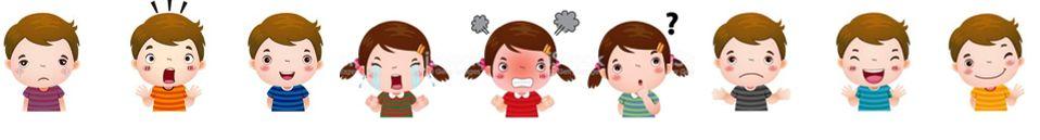 niños con emociones