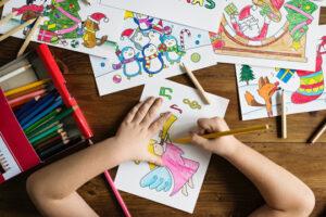 Psicólogo infantil y dibujo