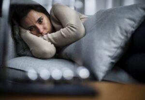 Trastorno adaptativo - Mujer deprimida