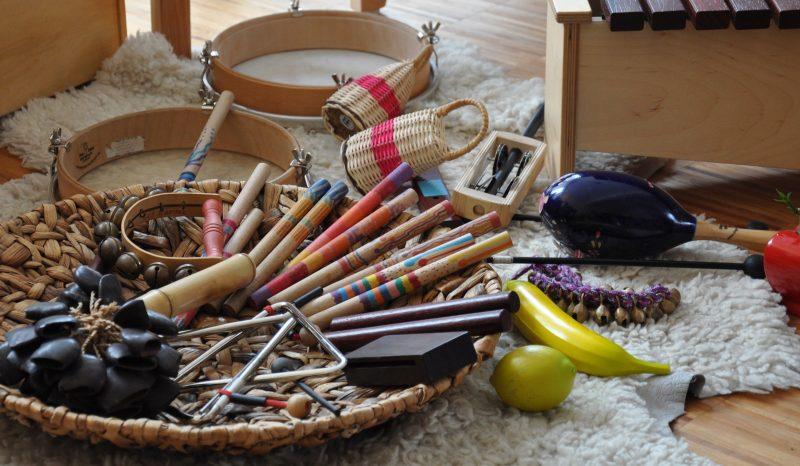 Musicoterapia - Instrumentos varios