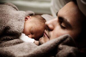 Teoría del pego - Padre con niño