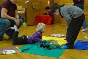Musicoterapia - Niños con instrumentos