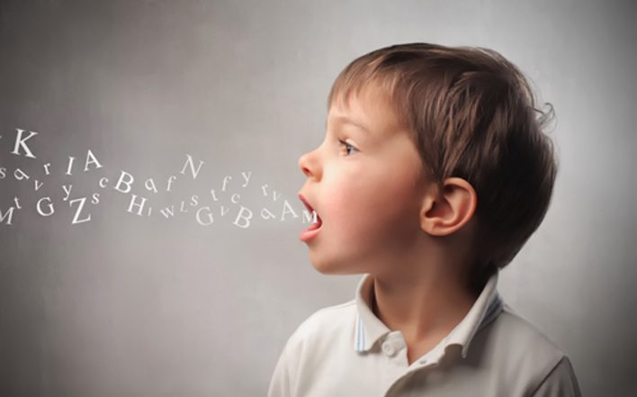 Dislalia - Niño hablando