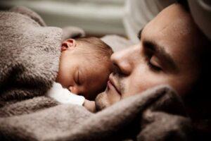 foto de padre con su hijo
