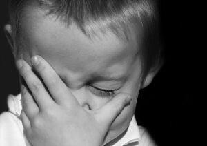 Psicólogo infantil - Niño triste
