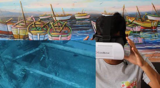 Realidad virtual y talasofobia