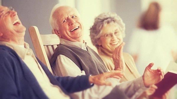 Terapia de la risa en la tercera edad