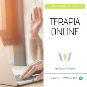 terapia psicológica online - Flyer