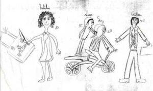 dibujo de la familia kinética