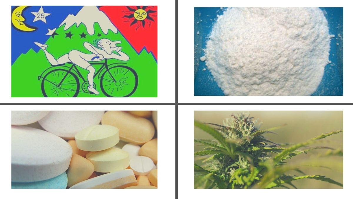 4 tipos de drogas